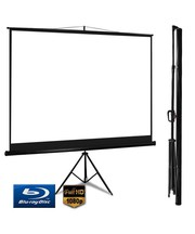 Buy Tripod Projector Screen 4:3 100 inch - Flipdeals