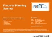 FREE Financial Planning Seminar