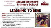 Reading Information Session